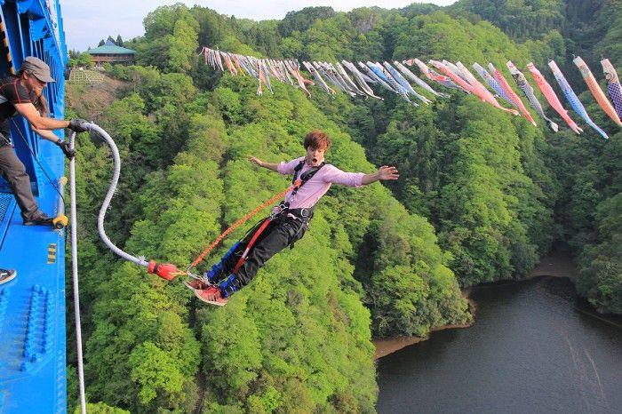 Nơi nhảy bungy cao nhất Nhật Bản