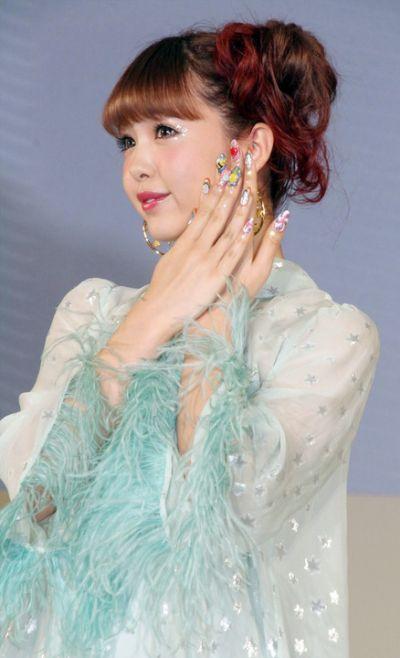 người mẫu Nicole Fujita