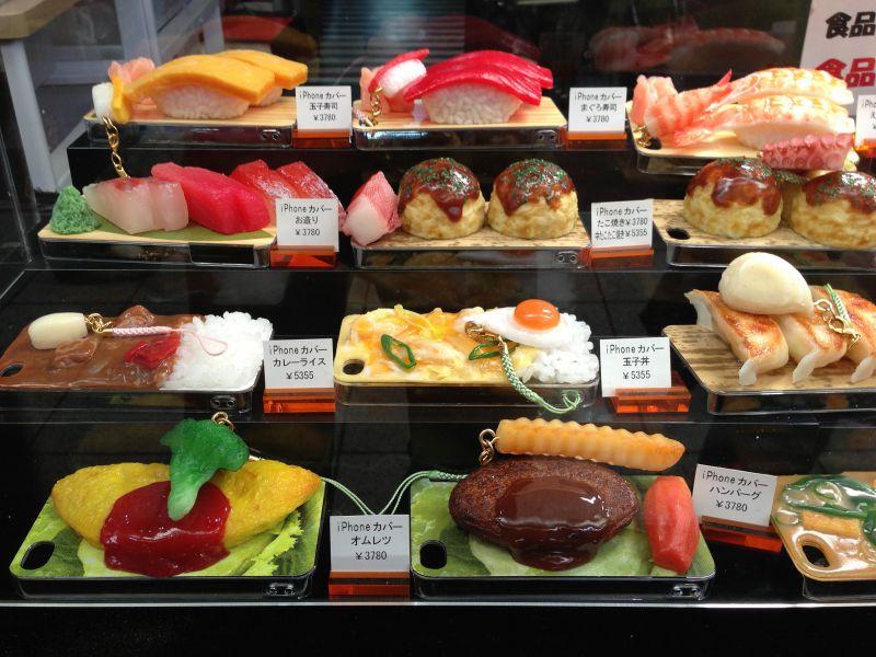 mô hình đồ ăn