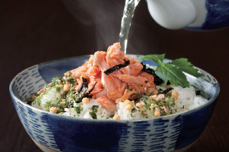 cơm chan nước trà Ochazuke