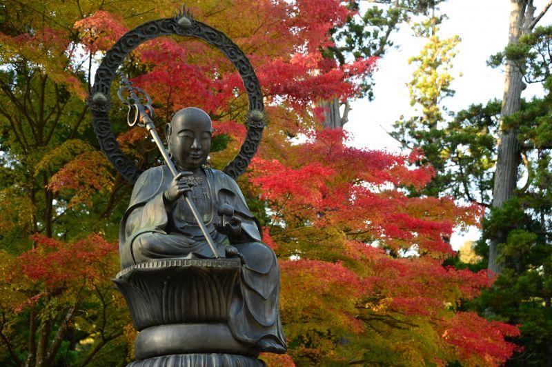 tượng Phật vườn thiền ở Entsuin