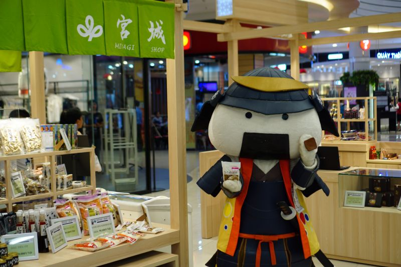 ビンタンイオンモールに、MIYAGI SHOPがオープン