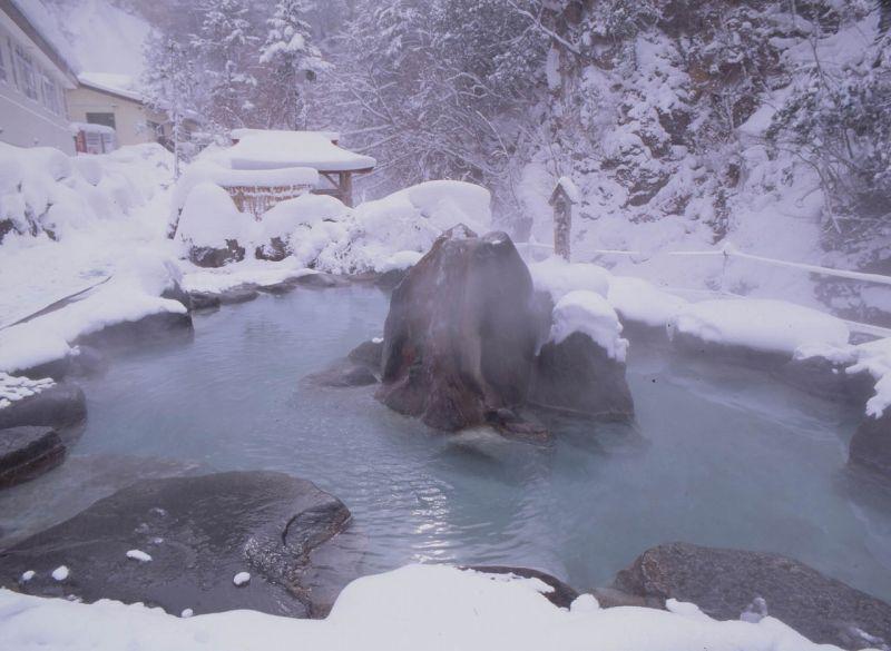 Suối nước nóng Yunishigawa