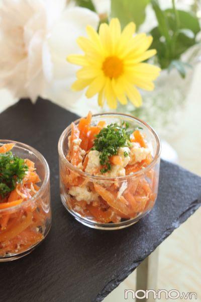 cà rốt phô mai