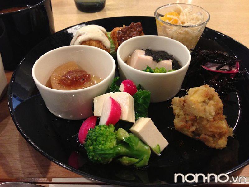 quán ăn chay ở Akihabara Tokyo