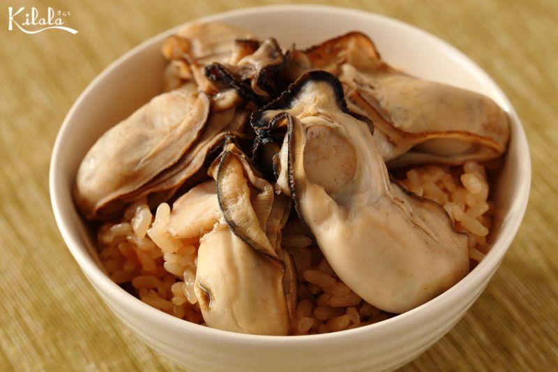 cơm Takikomi hàu