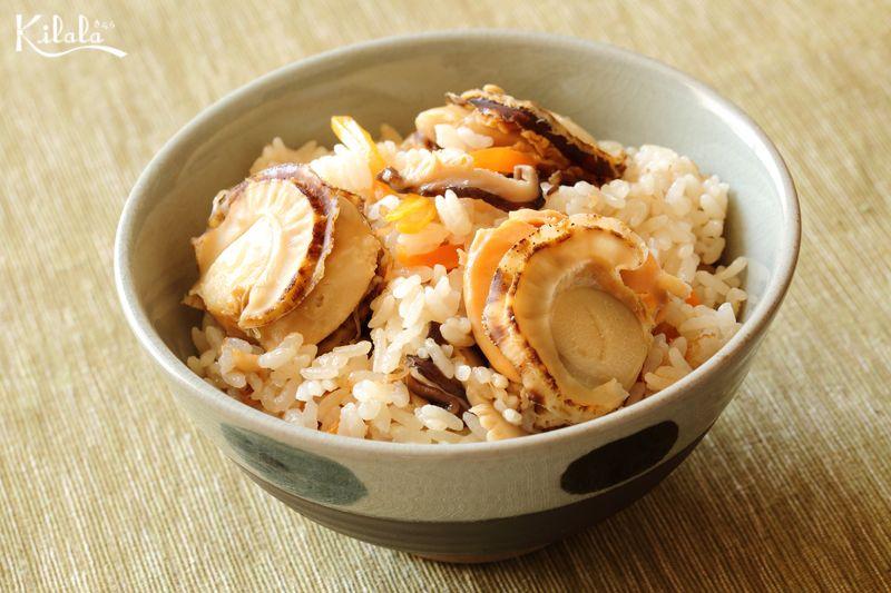 cơm Takikomi sò điệp