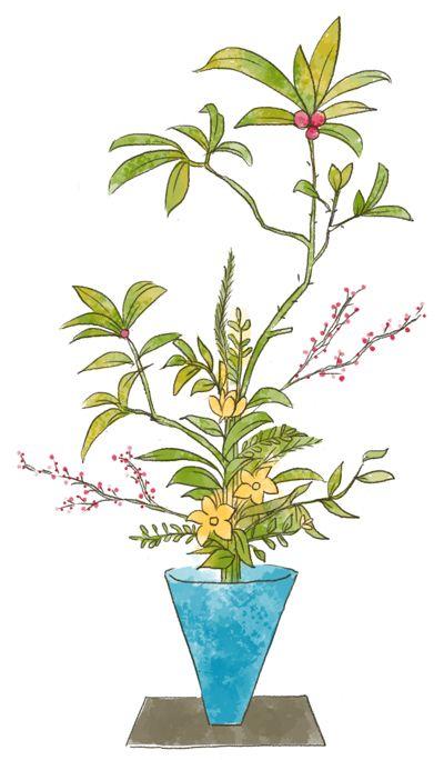 phong cách Rikka trong Ikebana