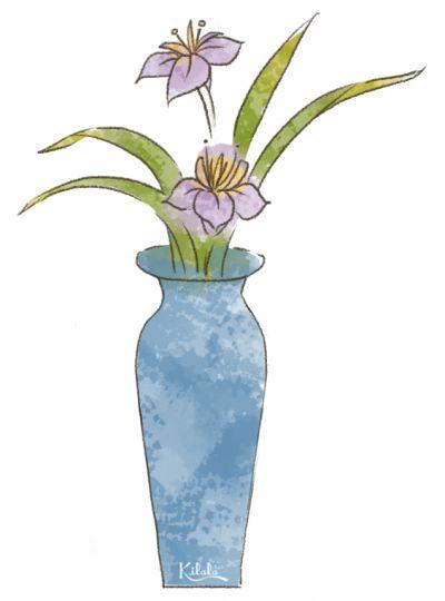 phong cách Nageire trong Ikebana