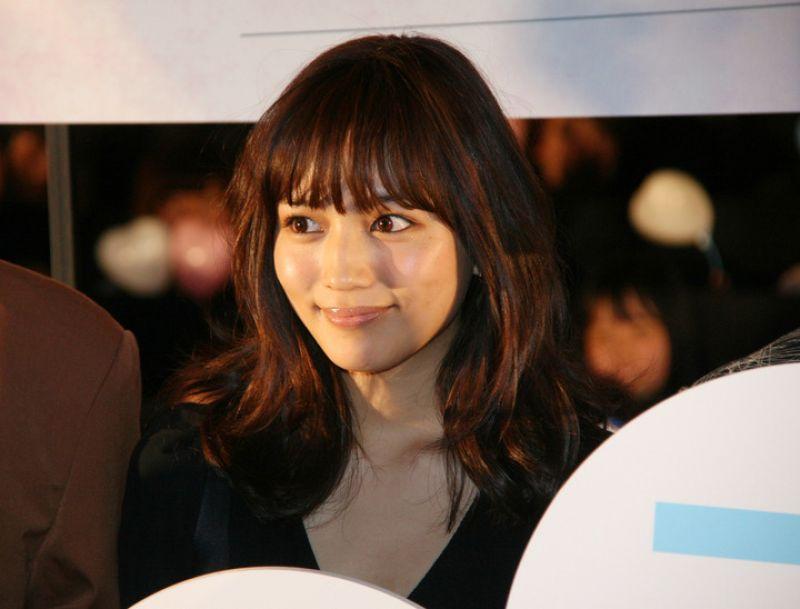 "Haruna Kawaguchi tại buổi chiếu thử ""Isshuukan friends"""
