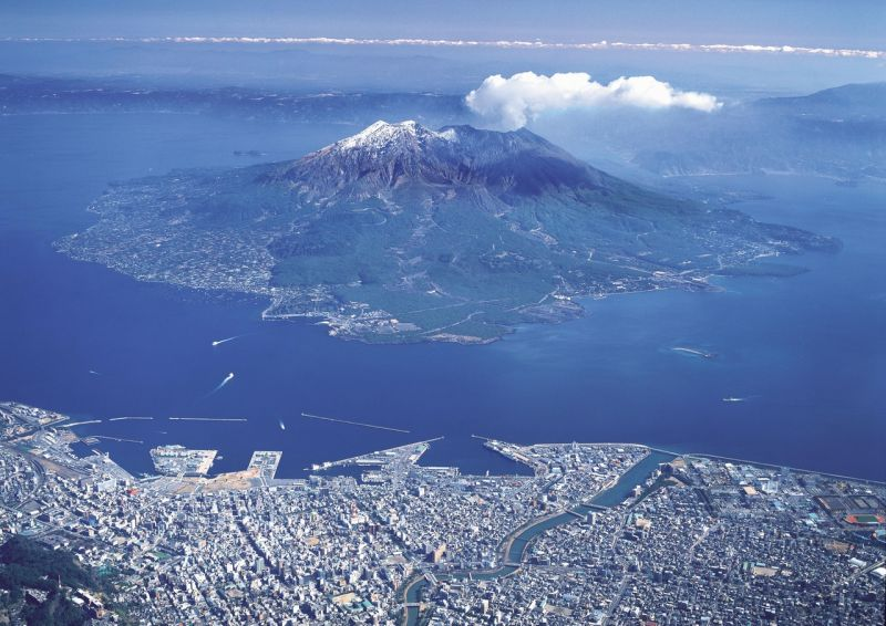 đảo sakurajima, kagoshima