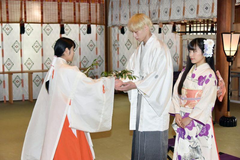 Kentaro Sakaguchi tại sự kiện cầu nguyện cho phim điện ảnh mới
