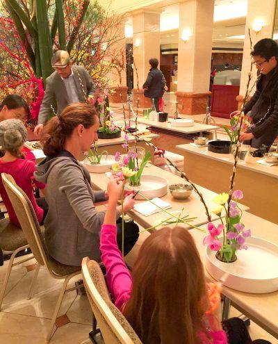 Workshop Ikebana dành cho khách trọ