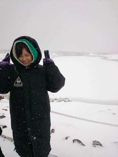 """Lần đầu tiên """"nếm trải"""" bão tuyết Hokkaido"""