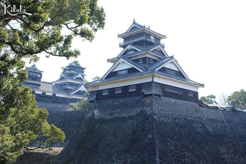 lâu đài Kumamoto