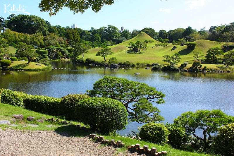 vườn Suizenji Jojuen