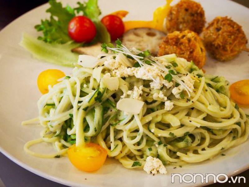mỳ Ý rau củ siêu thực phẩm