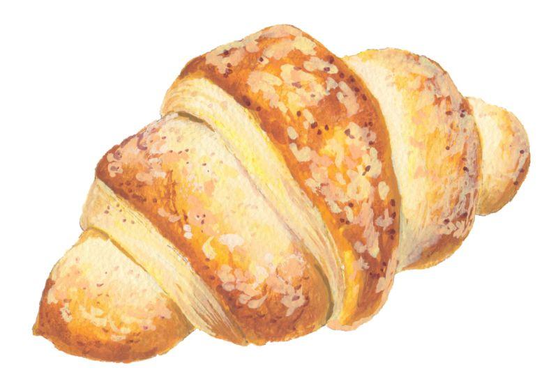 bánh mì Croissant của Levain