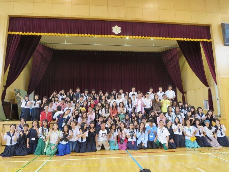 フィリピン高校生との交流