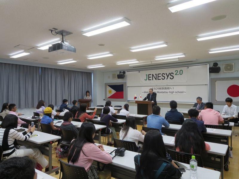 Giao lưu với học sinh THPT Philippines