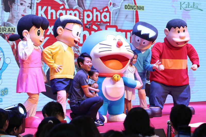 Doraemon và những người bạn Nobita, Shizuka, Jaian, Suneo