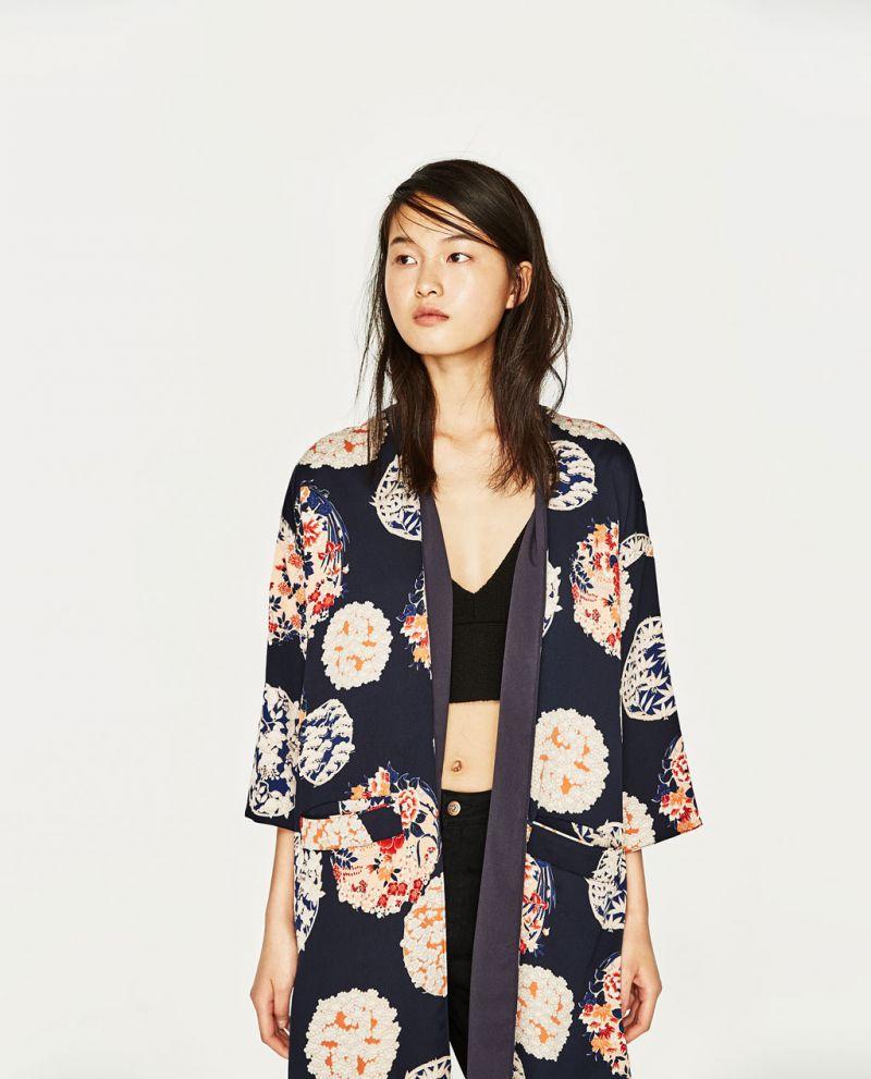 biến tấu Kimono jacket