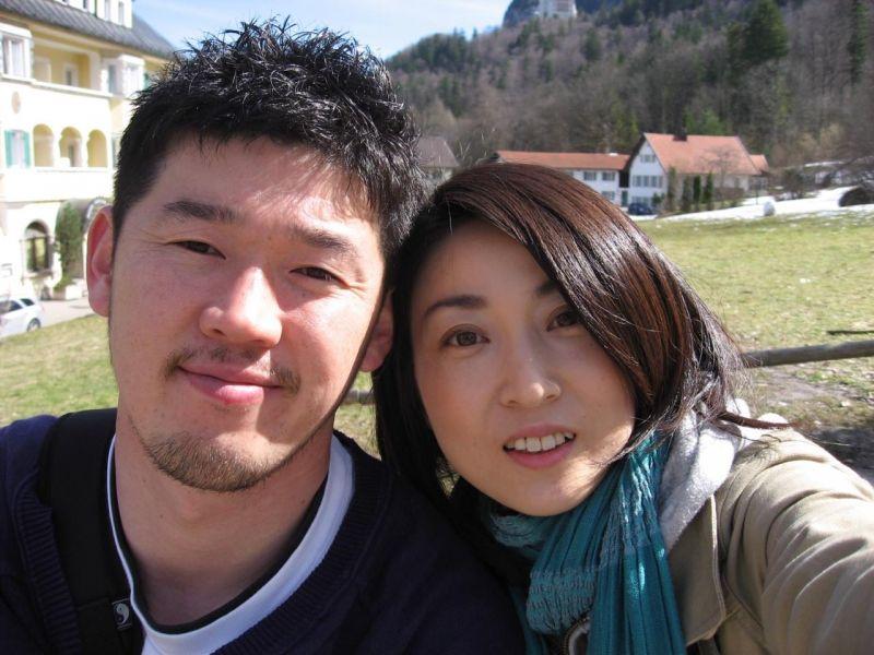 Anh Oohashi và vợ
