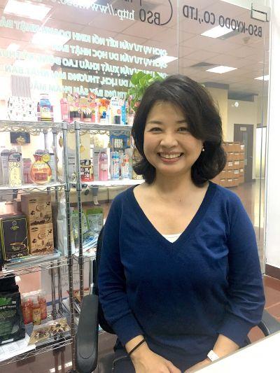 Chị Atsuko - Chuyên viên tư vấn làm đẹp