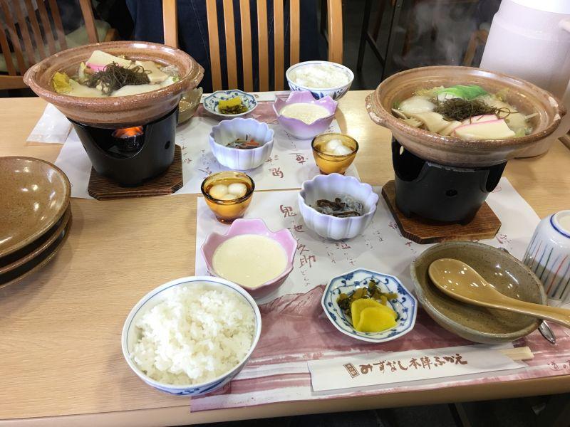Một bữa ăn theo phong cách Washoku với nguyên liệu là thổ sản Nagasaki