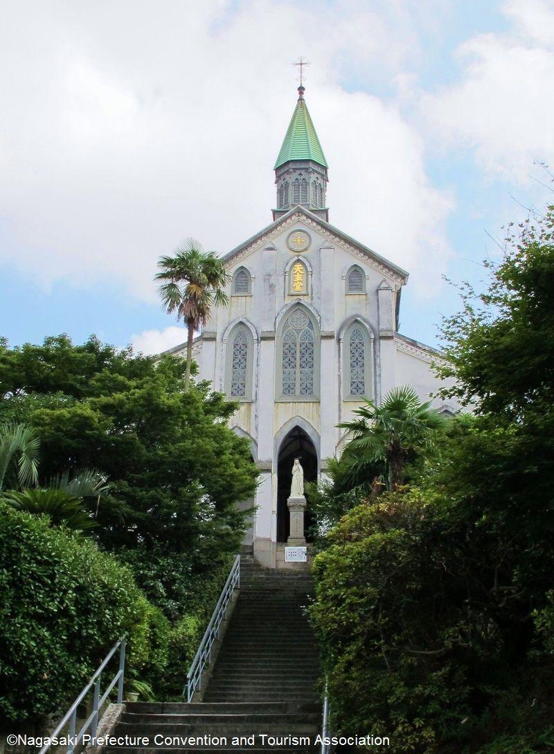 Nhà thờ Oura - Kiến trúc cơ đốc giáo cổ kính nhất Nhật Bản