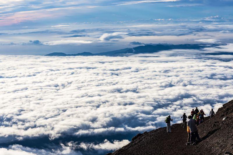 núi Phú Sĩ mùa hè