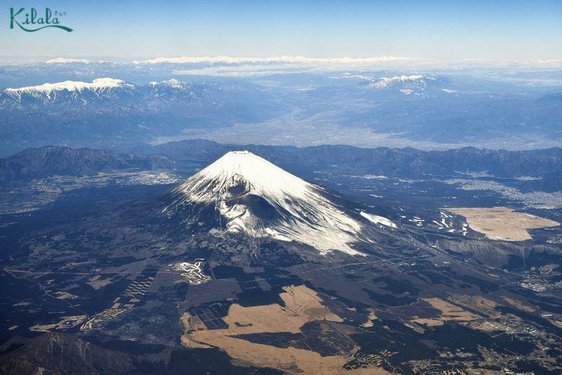 núi Phú Sĩ phủ tuyết