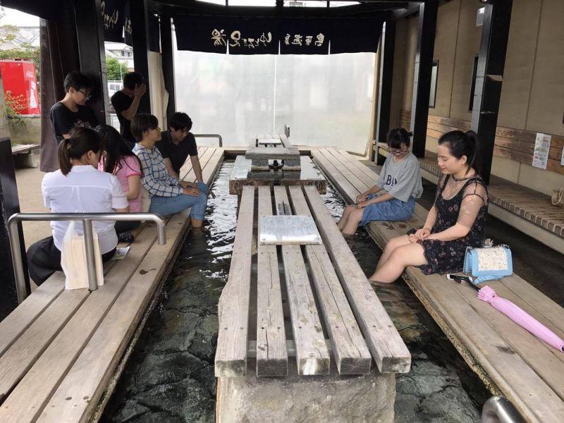 suối nước nóng Unzen