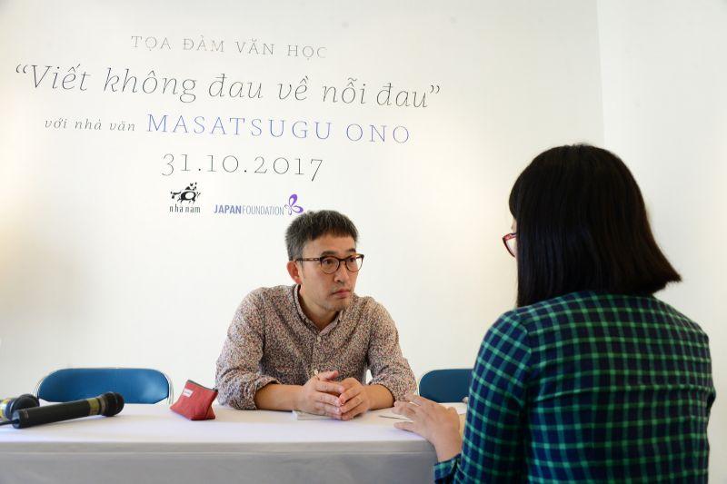 Nhà văn Masatsugu Ono