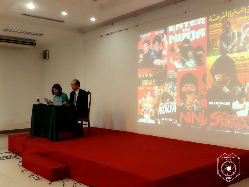 Thuyết trình và biểu diễn NINJA Nhật Bản