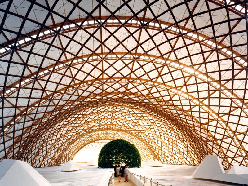 Kiến trúc của Shigeru Ban