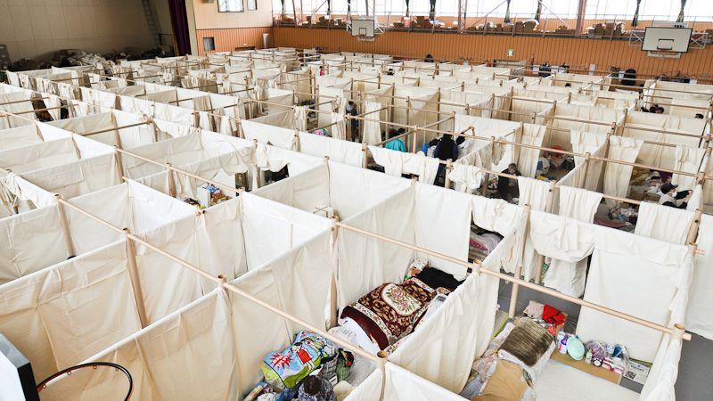Công trình khu tị nạn cho người dân Nhật Bản