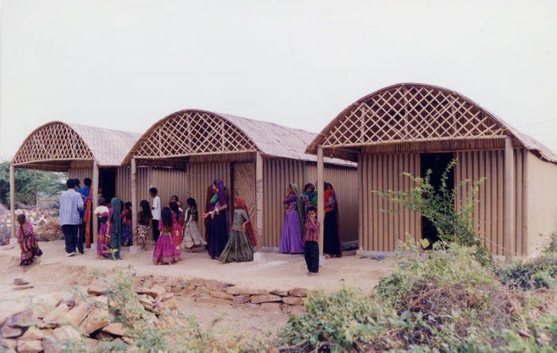 Khu nhà trú ẩn cho người dân Ấn Độ