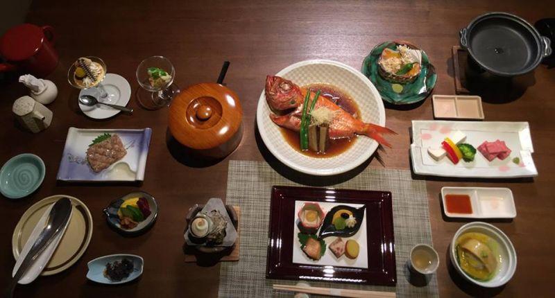Bữa ăn tại Nhật