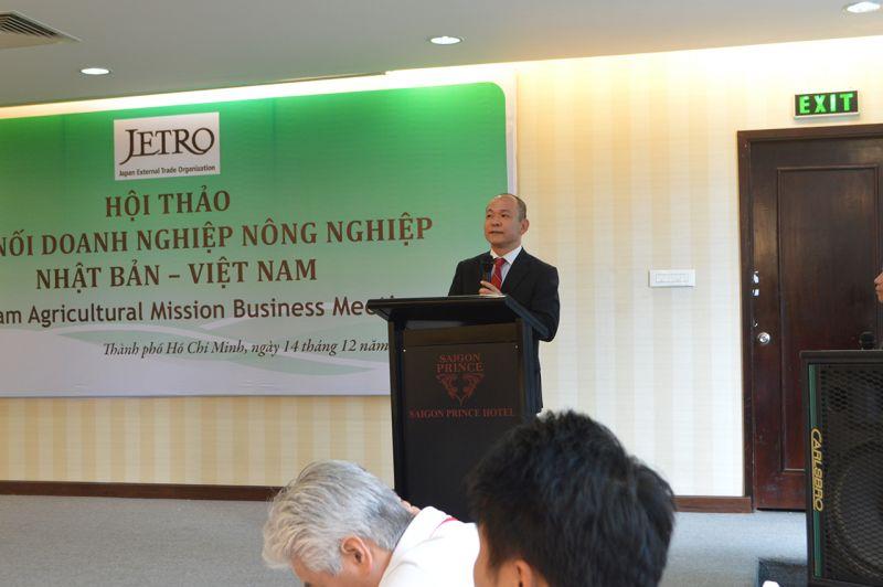 Ông Takimoto Koji Trưởng đại diện văn phòng JETRO Hồ Chí Minh