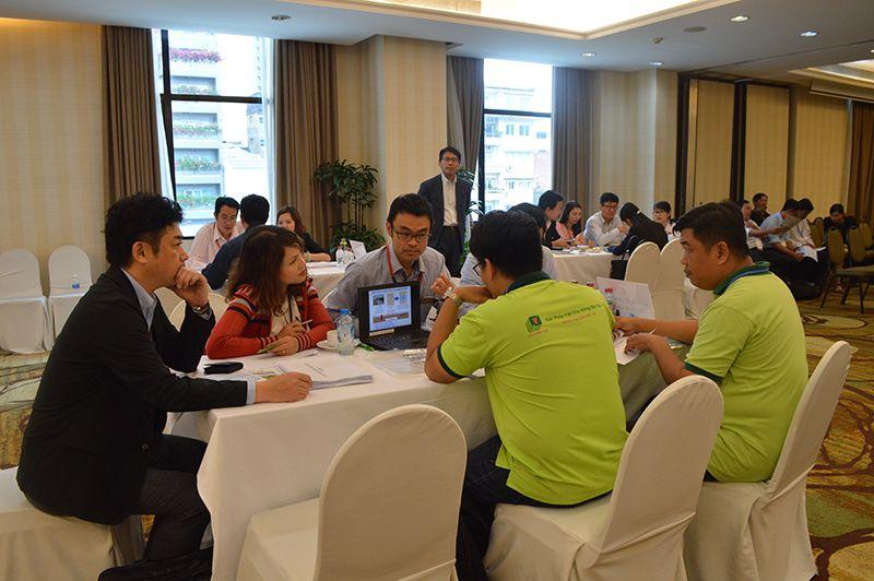 Các doanh nghiệp Việt Nam tham dự sự kiện.