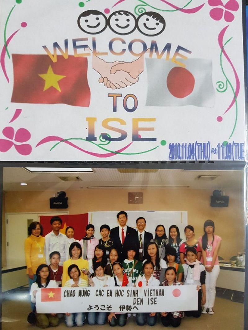 Ảnh lưu niệm của chuyến giao lưu thiếu niên Nhật Bản - Đông Nam Á