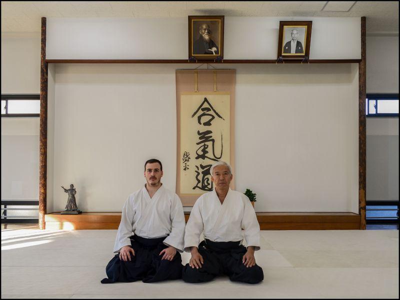 Luyện tập võ Aikido tại Nhật Bản