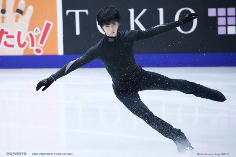 Yuzuru Hanyu trượt băng