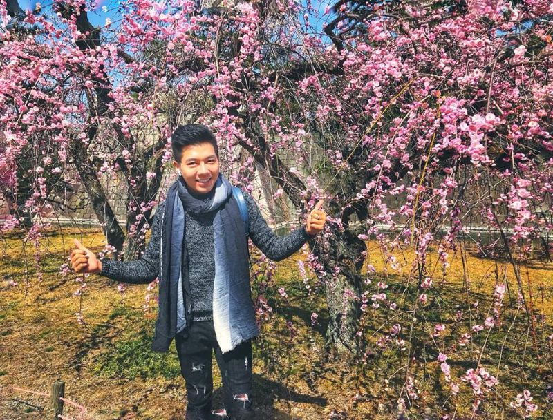 Hoa đào nở đầu tiên tại Kyoto