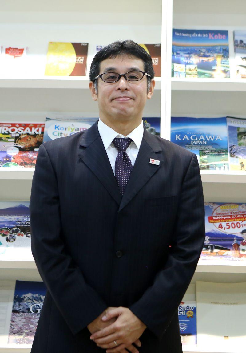Ông Takahashi Ayumi – Trưởng đại diện JNTO tại Việt Nam