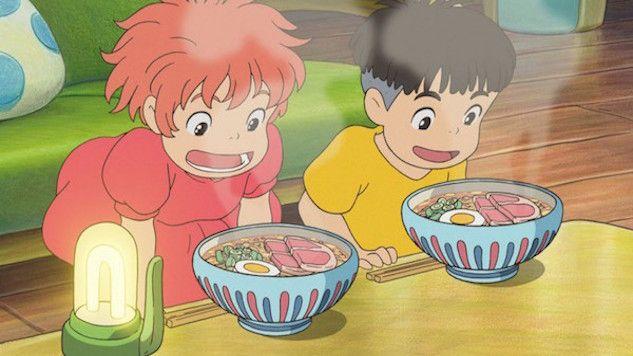 Món mì Ramen trong phim Ghibli