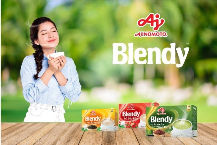 Sản phẩm Blendy™ thích hợp cho tất cả mọi người ở mọi lứa tuổi.
