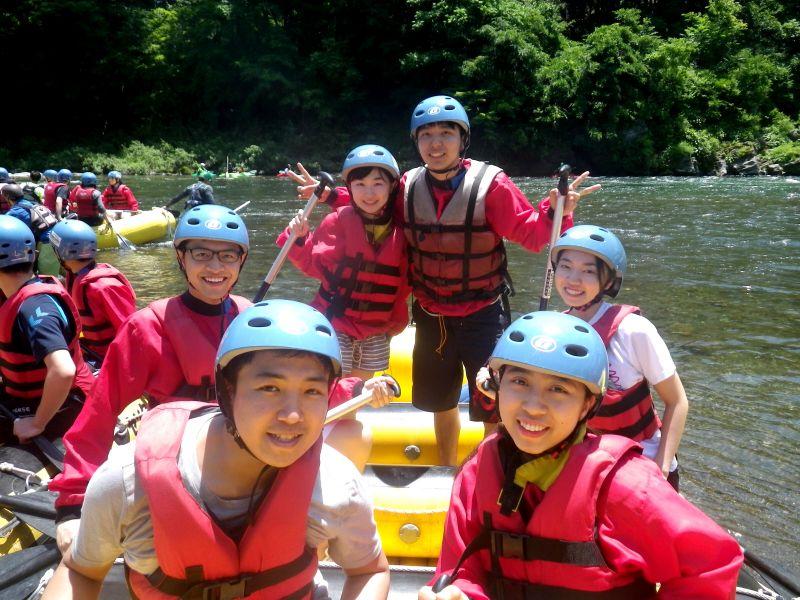Thể thao nước trên sông Nagatoro