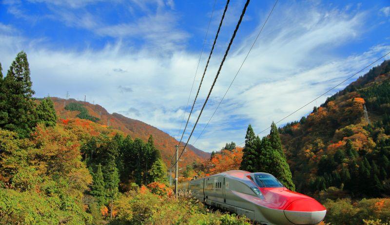 mùa lá đỏ ở Tohoku